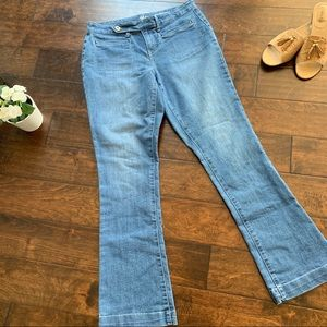 Style and Co. Curvy Boot Leg Jeans